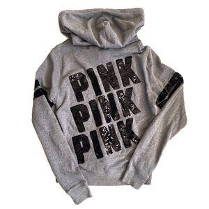 VS PINK | Bling Full Zip Hoodie